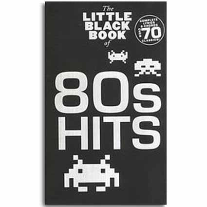 Little Black Songbook of 80s Hits by