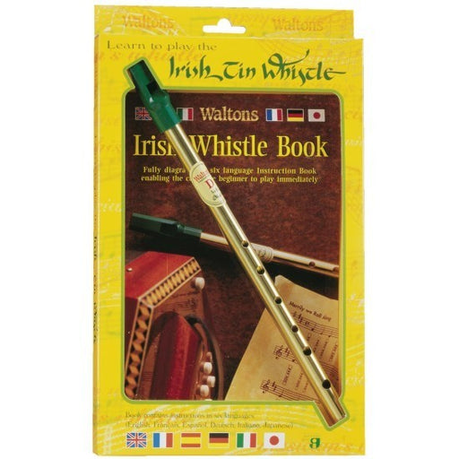 Waltons Tin Whistle in D & Book Pack