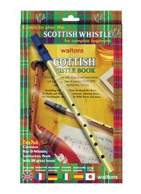Waltons Scottish Penny Whistle & Book Pack