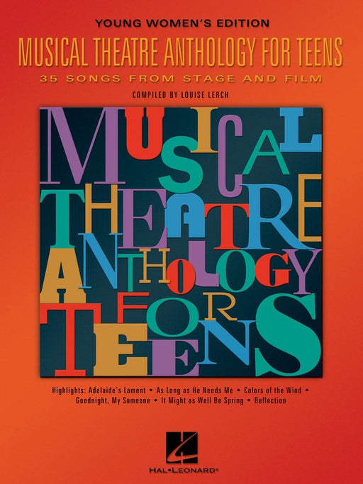 Musical Theatre Anthology for Teens - Young Women's Edition