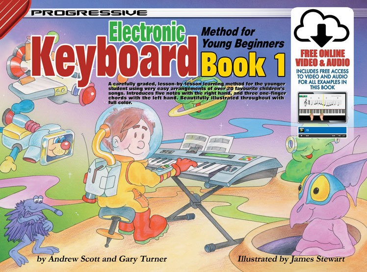 Progressive Keyboard Method For Young Beginners Book 1