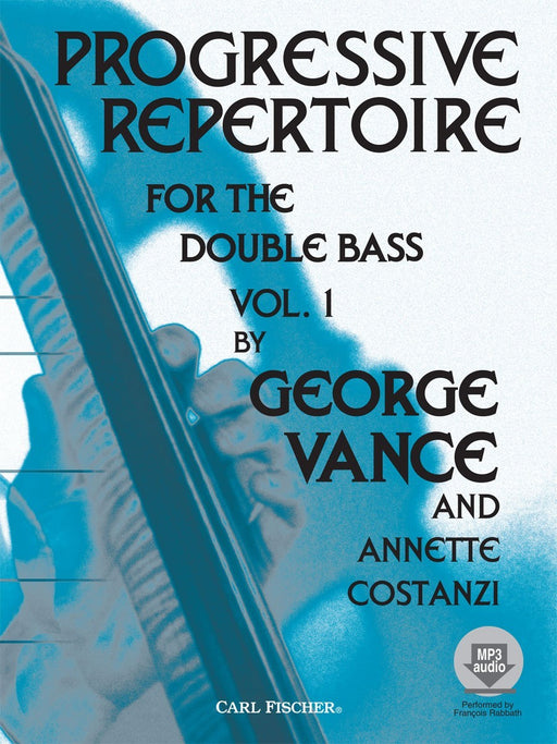 Progressive Repertoire for the Double Bass by George Vance