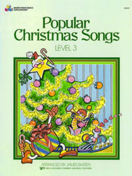 Popular Christmas Songs Primer Level Bastien by Bastien
