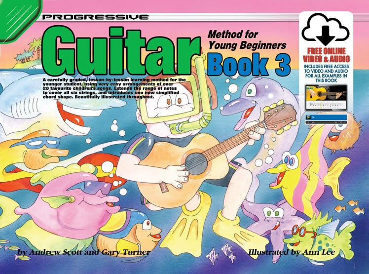 Progressive Guitar Method Young Beginners Book 1 by Progressive