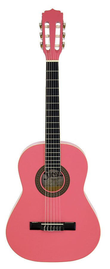 Aria Fiesta 1/2 Size Classical/Nylon String Guitar in Black