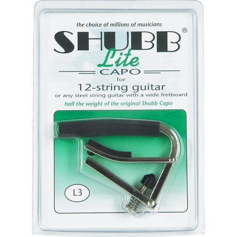 Shubb Lite Capo for 12 String Guitar