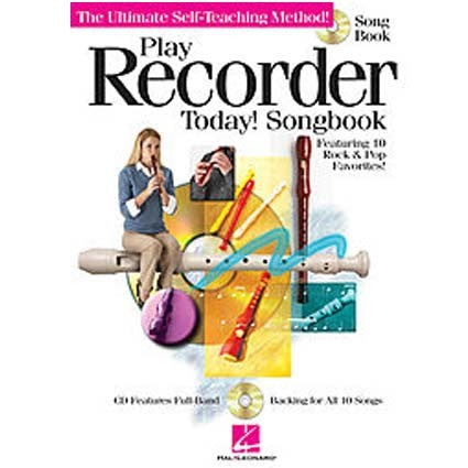Play Recorder Today Song Book/CD by
