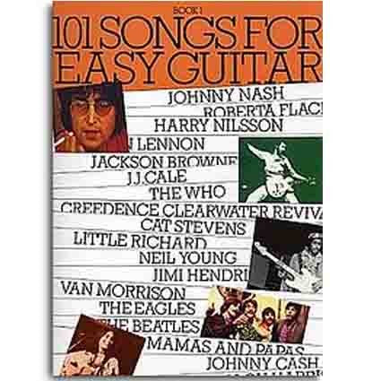 101 Songbook Easy Guitar Book 1 by