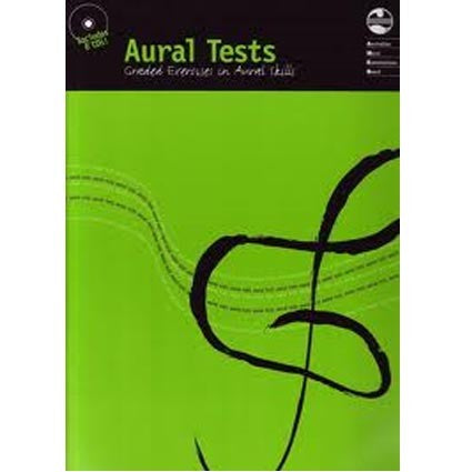 Aural Tests Book/6 CDs AMEB by