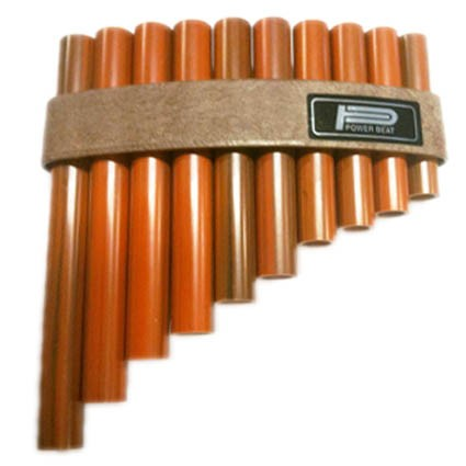 Panpipes with 10 Notes by
