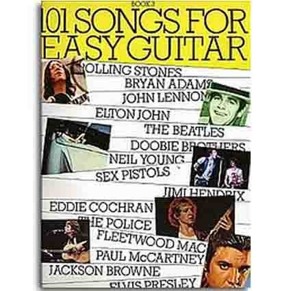 101 Songbook Easy Guitar Book 3 by