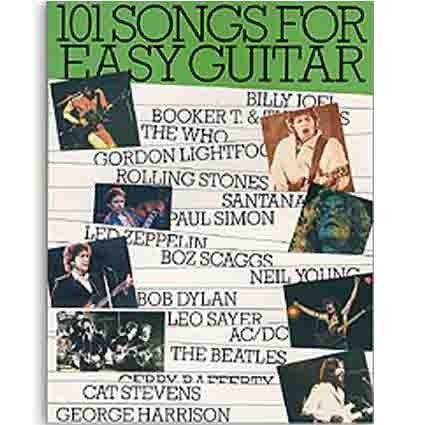 101 Songbook Easy Guitar Book 4 by