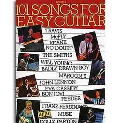 101 Songbook Easy Guitar Book 5 by