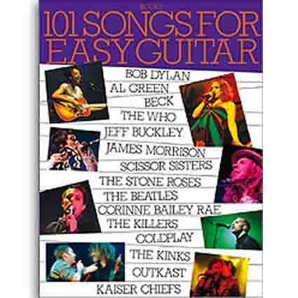 101 Songbook Easy Guitar Book 6 by
