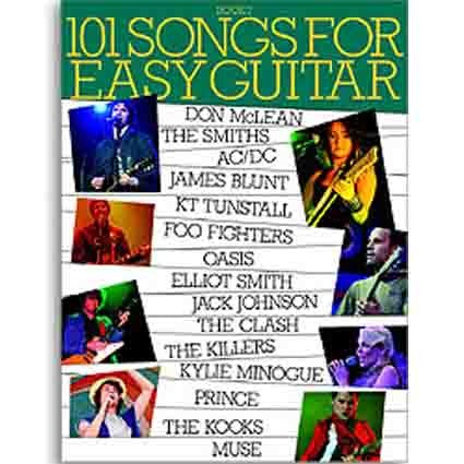 101 Songbook Easy Guitar Book 7 by