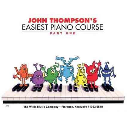 John Thompson Easiest Piano Course 1 by