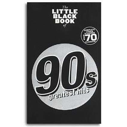 Little Black Songbook of 90s Greatest Hits by
