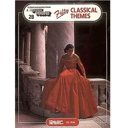 Ez Play Fifty Classical Themes by Hal Leonard
