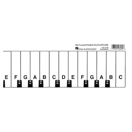 Student Keyboard Guide by Hal Leonard