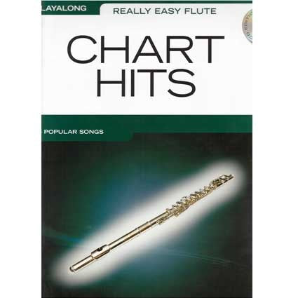 Really Easy Flute: Chart Hits Play Along Book/Cd by