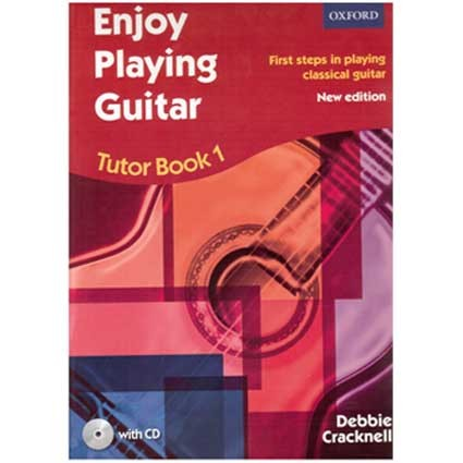 Enjoy Playing Guitar by Debbie Cracknell Book 1 by