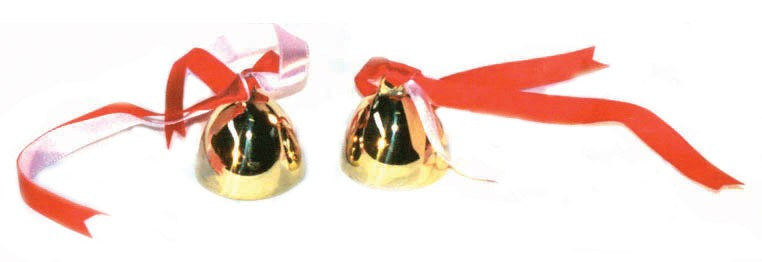 Pair of Handbells by