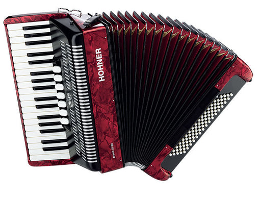 Hohner Bravo III 80 Bass Chromatic Accordion
