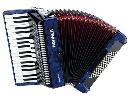 Hohner Bravo III 72 Bass Chromatic Accordion