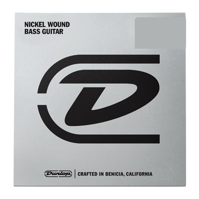 Dunlop Nickel Wound Bass Guitar Single String