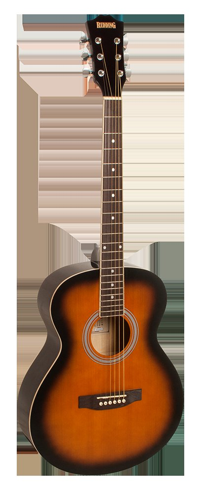 Redding Grand Concert Acoustic Guitar Left Handed