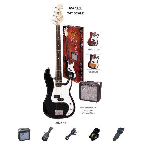 SX Electric Bass Package