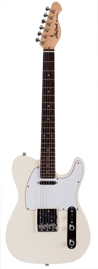 Aria 615 Frontier Series Electric Guitar in Ivory
