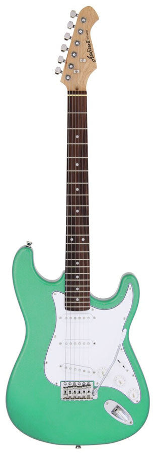 Aria STG-003 Series Electric Guitar in Surf Green