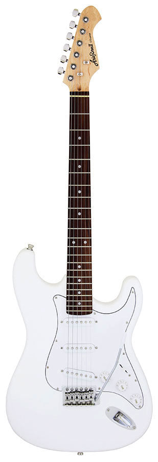 Aria STG-003 Series Electric Guitar in White