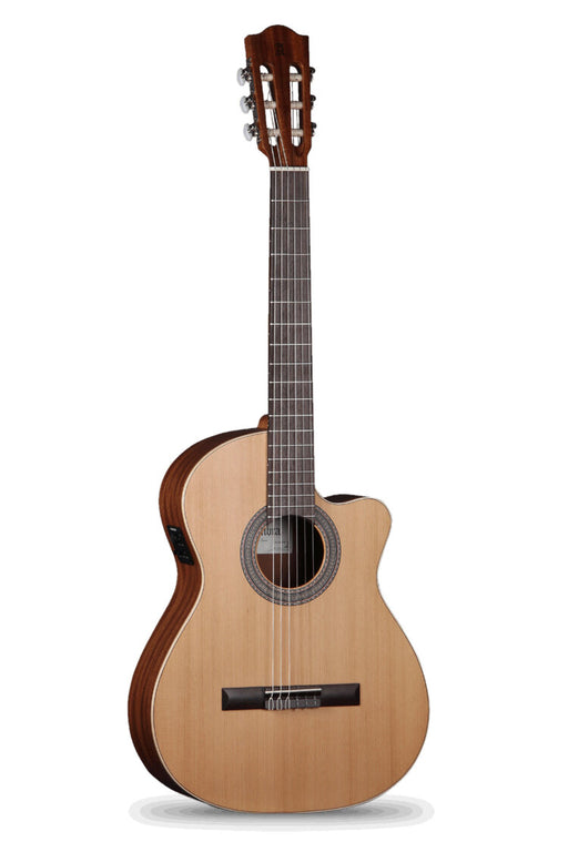 Alhambra Z Nature Solid Cedar Top Classical Guitar with Pickup