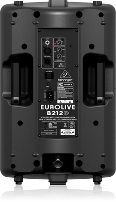 "Behringer Eurolive B212D Active 550W, 2-Way, 12"" PA Speaker"