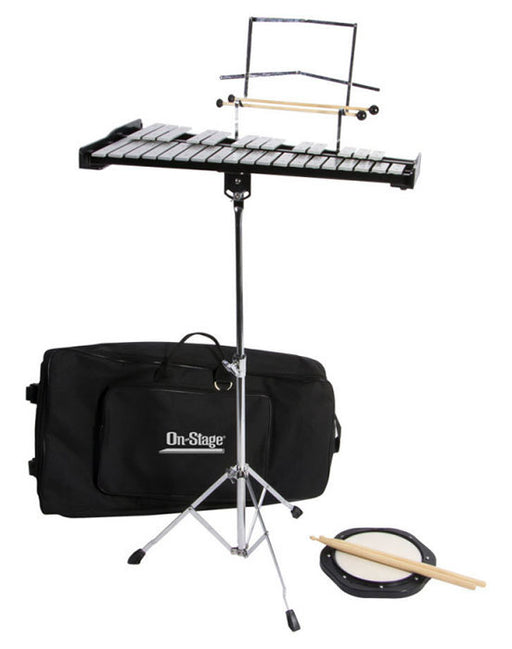On Stage Bell Kit with Stand in Bag