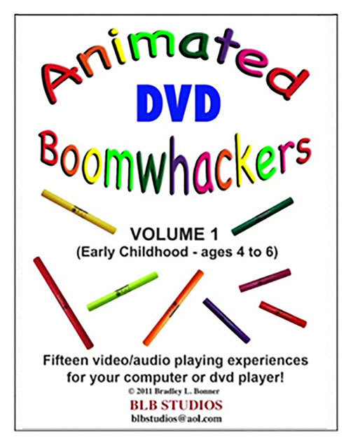 "Boomwhackers ""Animated Boomwhackers"" DVD Only"