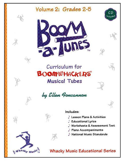 "Boomwhackers ""Boom-a-Tunes"" Curriculum Book/CD"