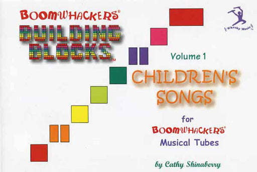 "Boomwhackers ""Building Blocks Childrens Songs"" Book Only"