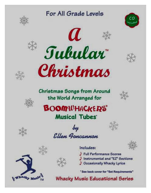 "Boomwhackers ""A Tubular Christmas"" Book/CD"