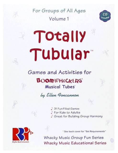 "Boomwhackers ""Totally Tubular"" Book/CD"