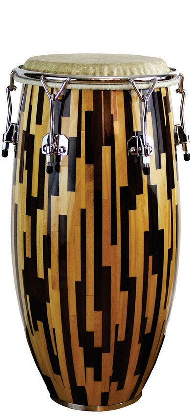 "A Tempo Jaspe Dos Tonos Series 11-3/4"" Conga in Gloss Finish"