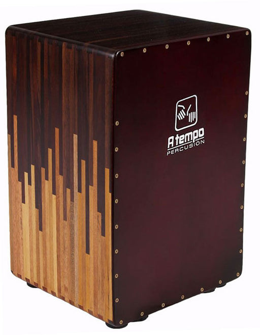 A Tempo Percussion Cascada Tuneable Flamenco Cajon in Natural Gloss Finish