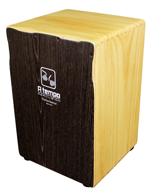 A Tempo Performance Series Cajon in Java Stripe Matte