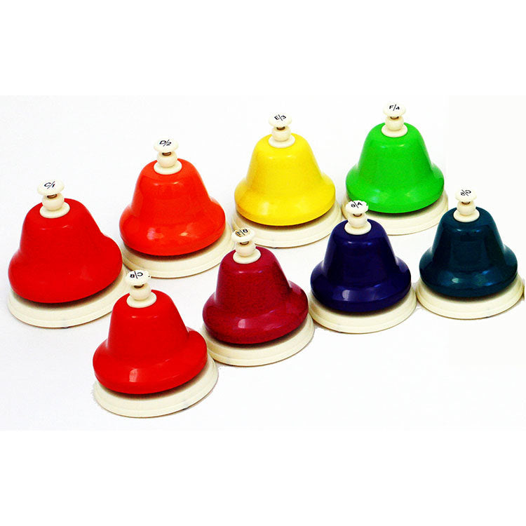 Chroma-Notes 8 Note Diatonic Desk Bell Set