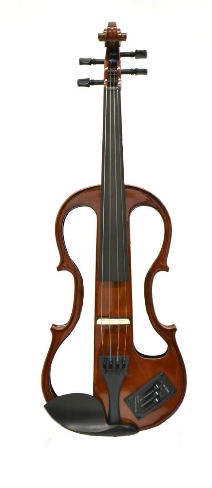 Carlo Giordano 4/4 Size Electric Violin Outfit EV202 Natural