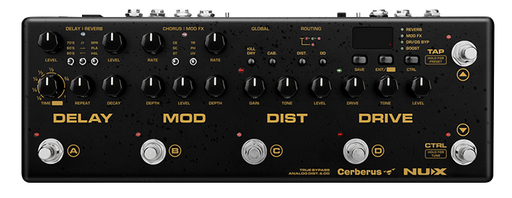 NUX Cerberus Integrated Effects and Controller