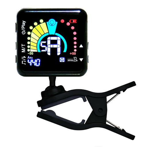Rechargeable Clip On Tuner and Metronome
