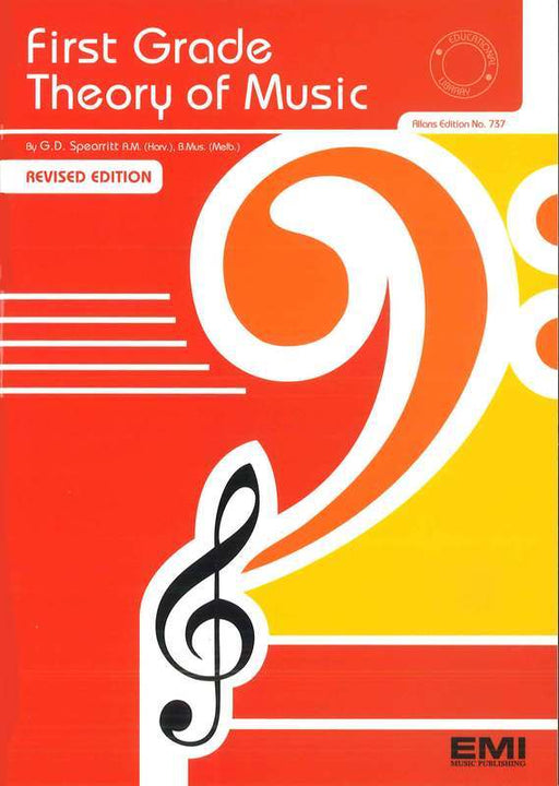 First Grade Theory Of Music by Gordon Spearritt